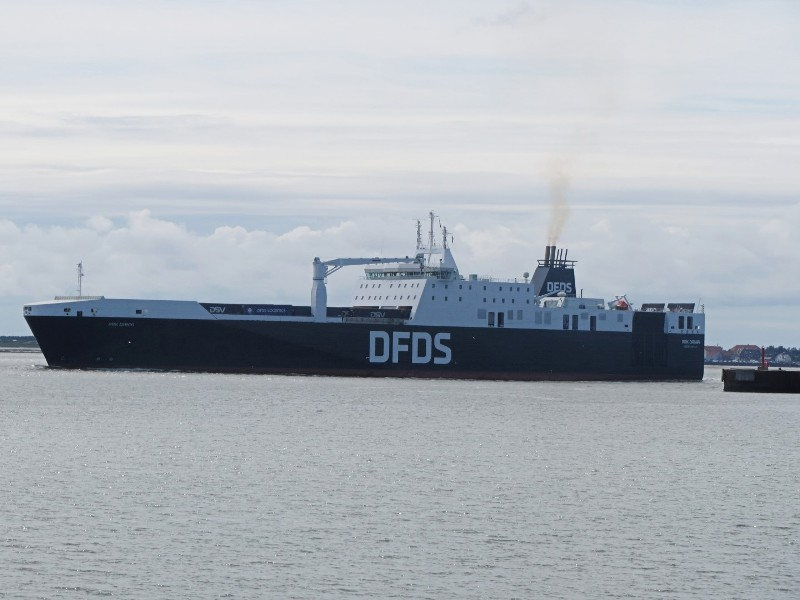 Fourth DFDS ferry for Dunkirk-Rosslare