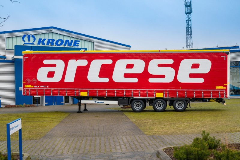 Arcese focuses on P400 trailers