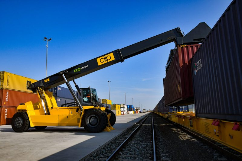 CLIP Intermodal Terminal expansion well under way