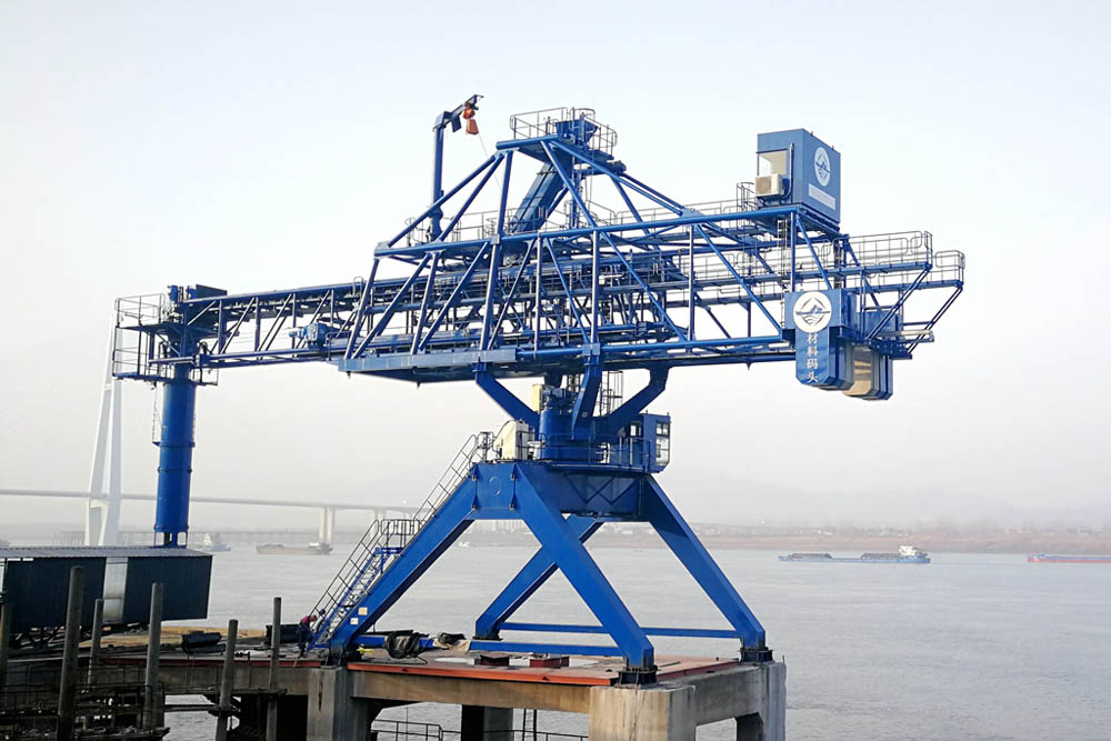 Genma shiploader arrives in just four months