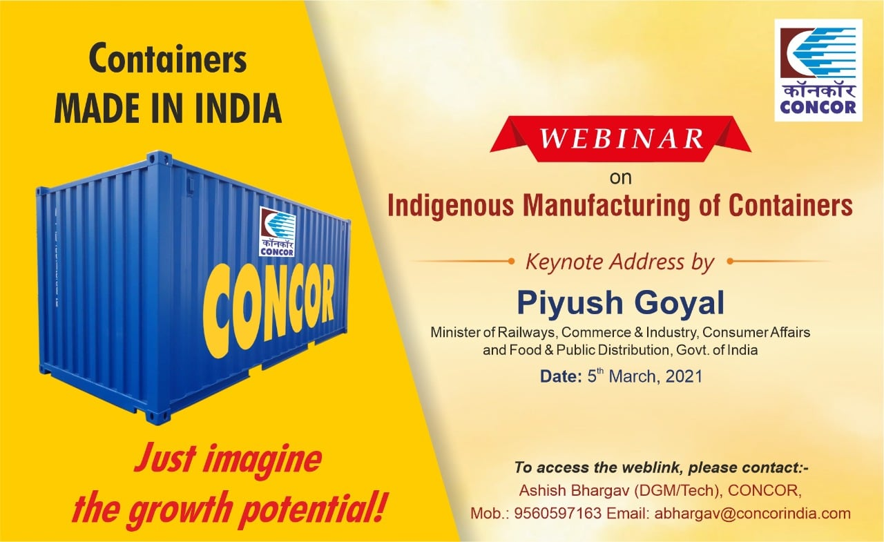 India makes a move on container manufacturing
