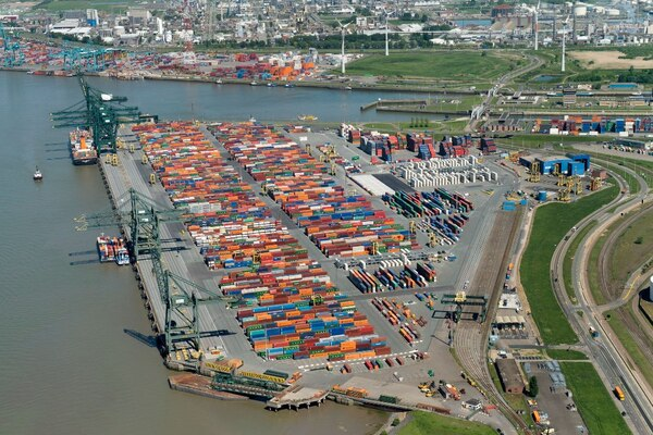 Antwerp is PSA's biggest operation outside of Singapore