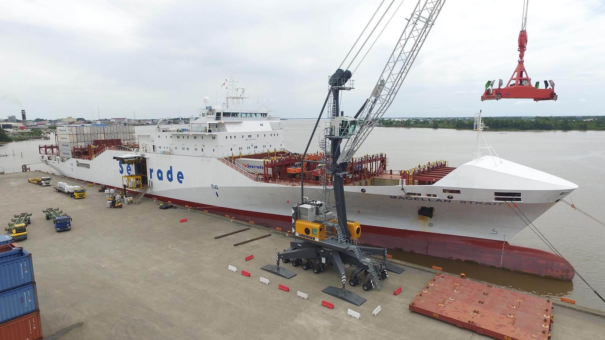 VSH Transport operates a multi cargo terminal in Suriname
