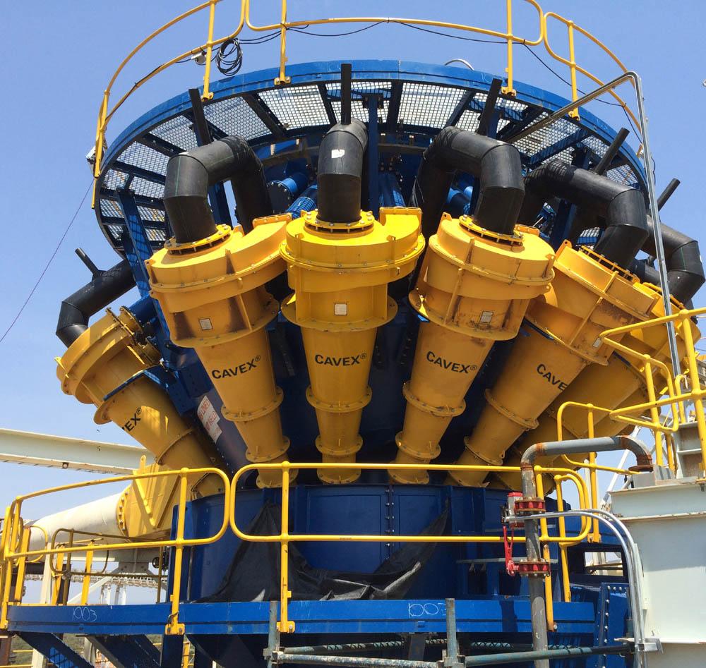 New generation hydrocyclone boosts throughput