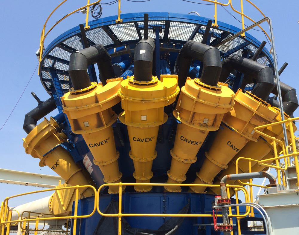 New generation hydrocyclone boosts throughput