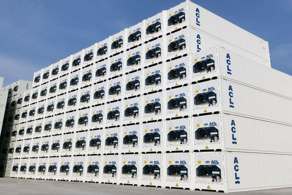 New reefers with telematics for ACL
