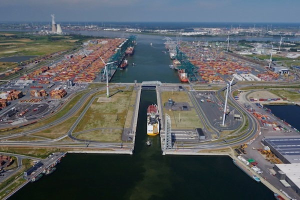 DP World to be compensated in Antwerp