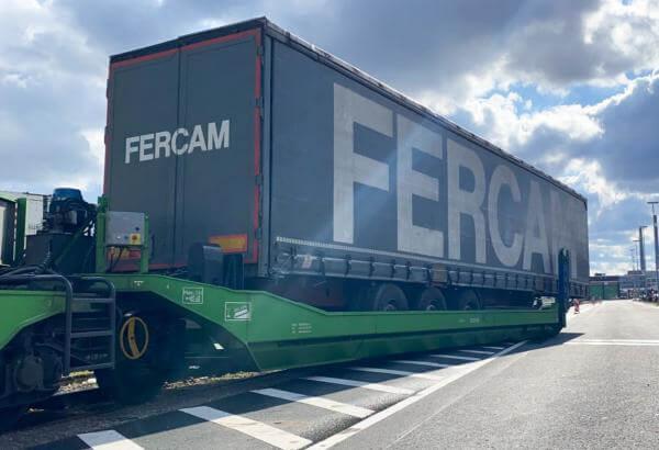 Fercam using Megaswing on Düsseldorf-Vienna axis