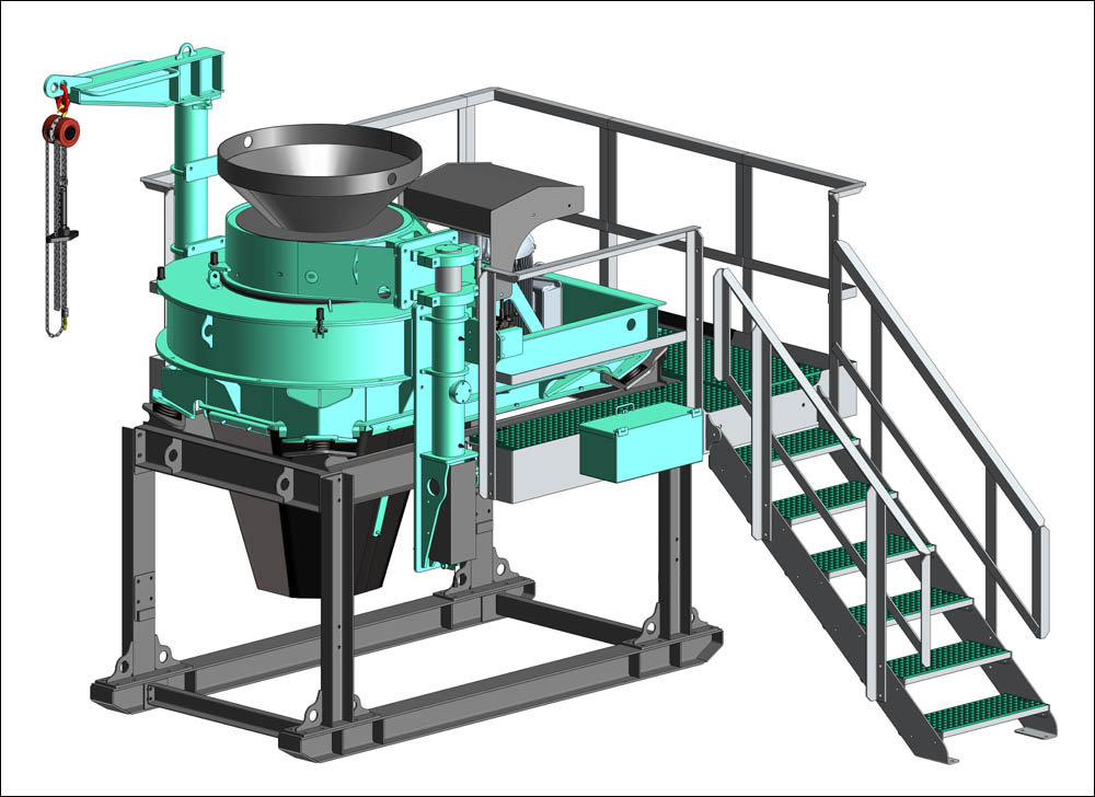 Pilot Crushtec launches new design VSI crusher