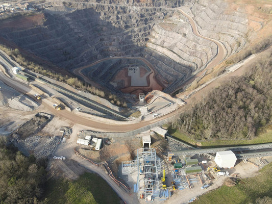 Quarry restoration solution for UK operator