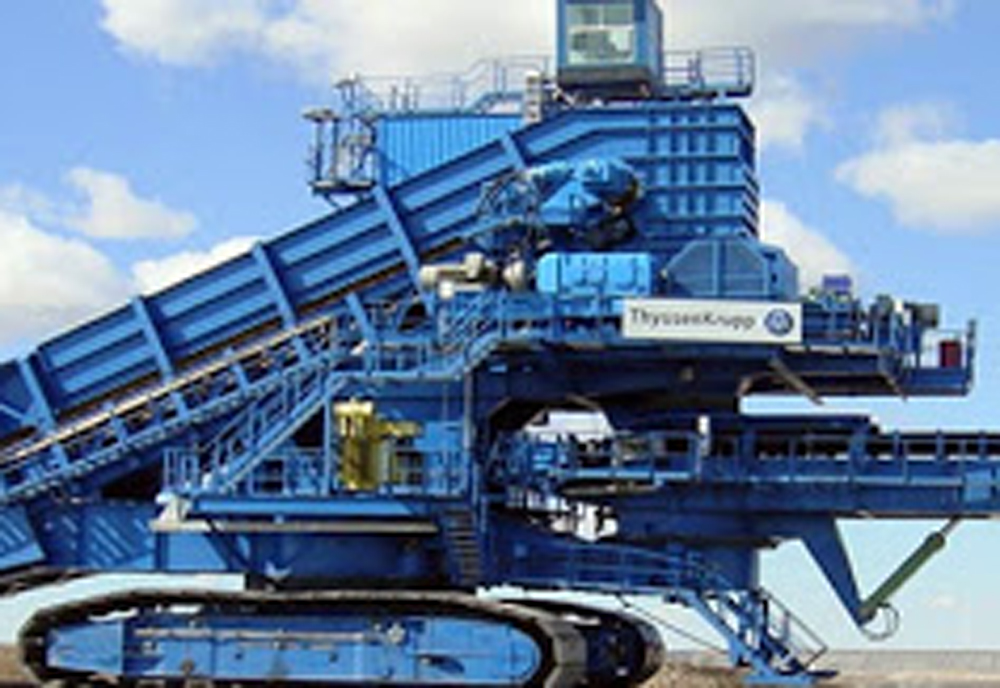 ThyssenKrupp appoints Giant Crushing in the UK