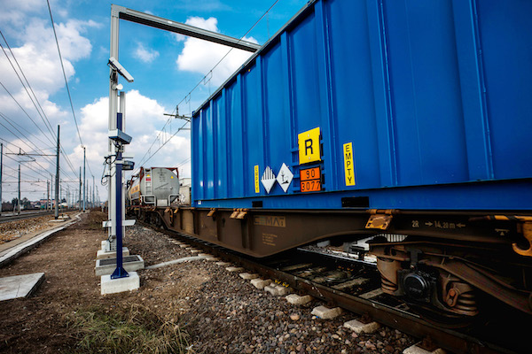 A Camco Rail OCR Portal (as supplied to Hupac)