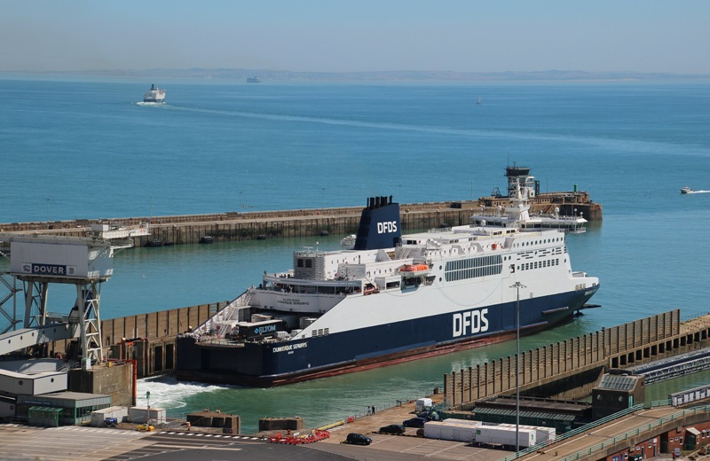 Slot charter agreement on Dover-Calais ferries
