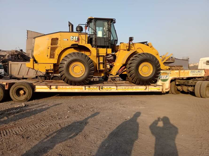 Green Channel delivers wheel loaders to India
