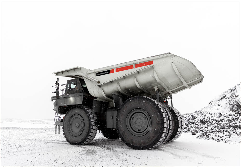 First Metso Outotec Truck Body in the Americas