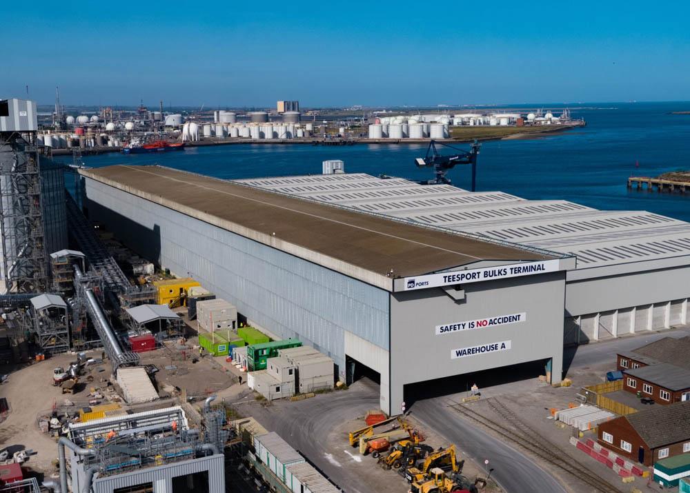 Third customer for Teesport Bulks Terminal