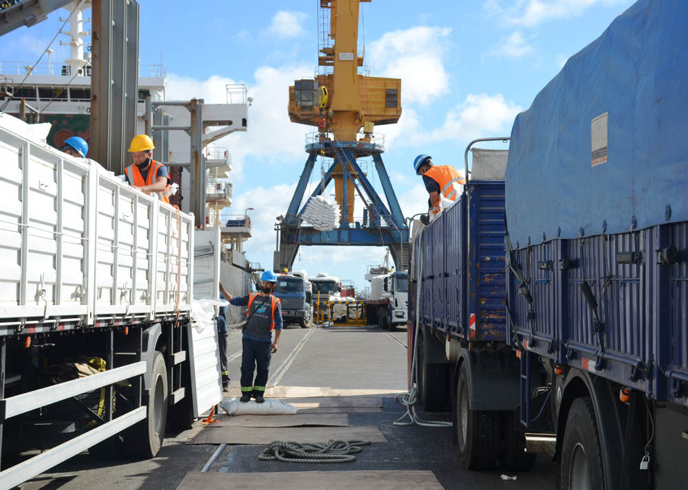 Second rice shipment from Uruguay to Iraq