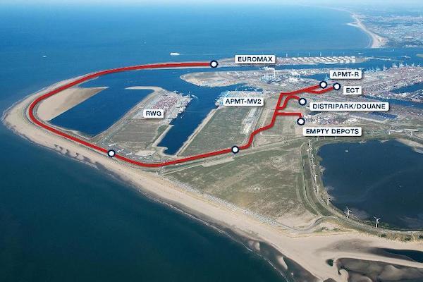 Rotterdam suspends autonomous transport for CER