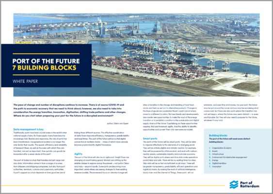 Whitepaper: Port of the Future - 7 Building Blocks