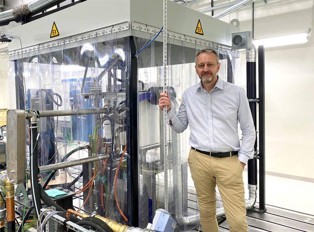 Volvo CE opens hydrogen Fuel Cell Test Lab