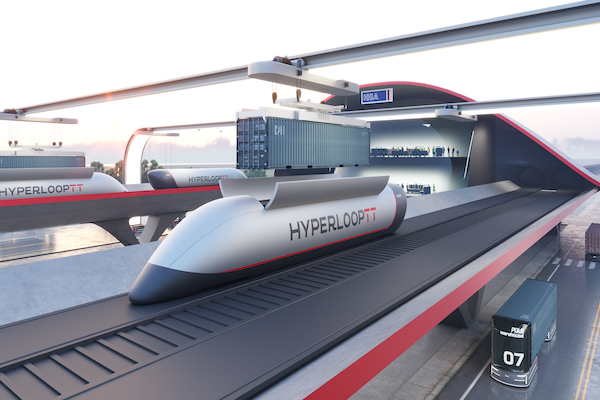 HyperloopTT and HHLA to present HyperPort concept at ITS World Congress