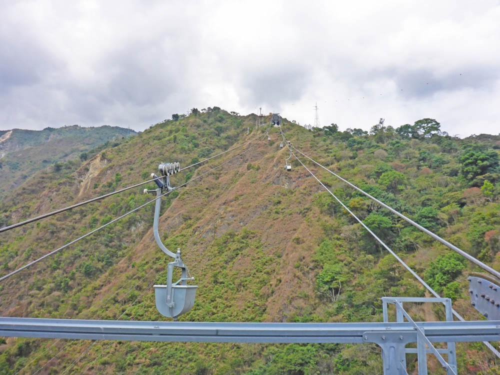 Doppelmayr materials ropeway in Colombia