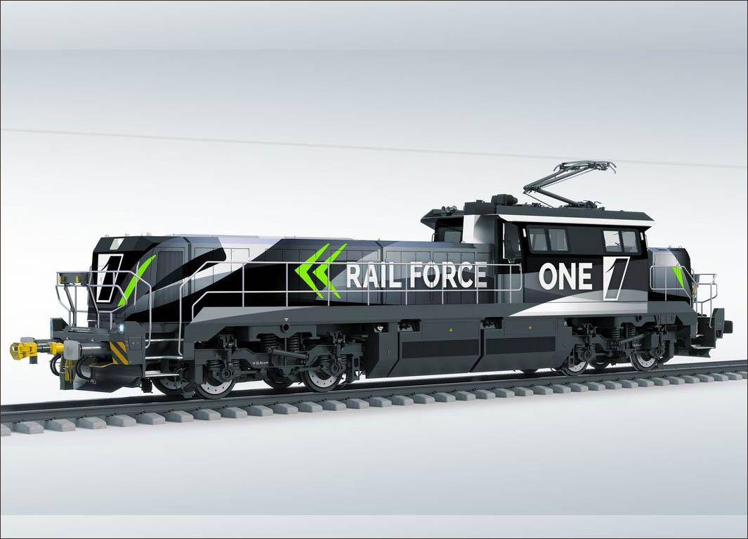 Zero-emissions shunting locos for Rotterdam
