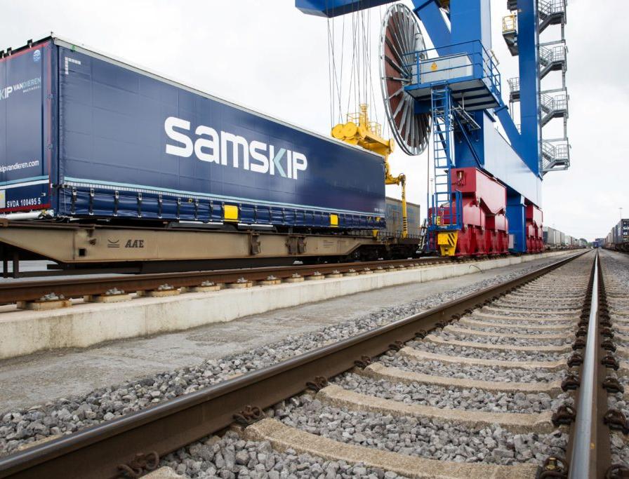 Samskip Multimodal restarts trailer transport by rail through Denmark