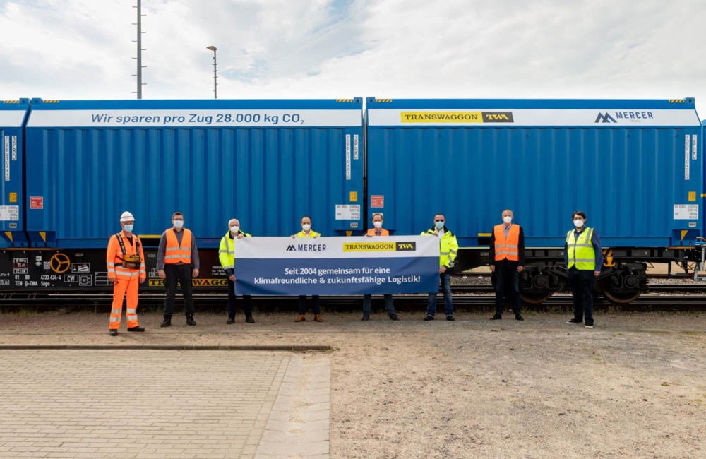 TRANSWAGGON delivers woodchip wagons to Mercer Holz