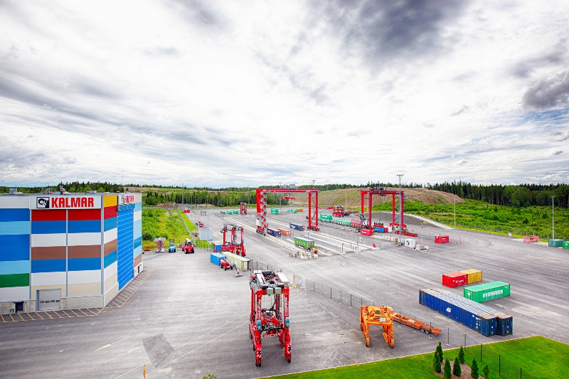Kalmar implements 5G at its port automation test facility