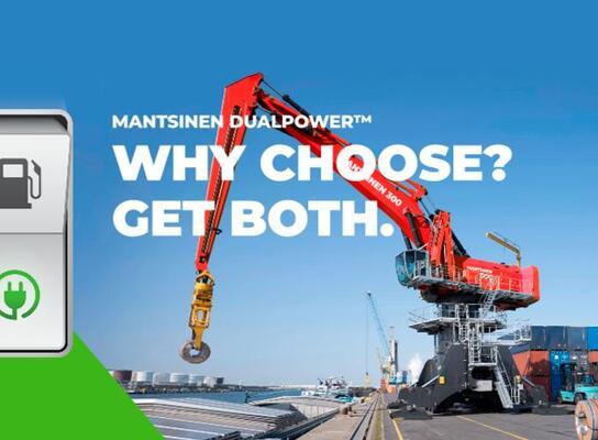 'Dualpower' cranes launched by Mantsinen