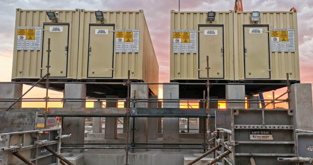 Electrical installation for platinum mine expansion