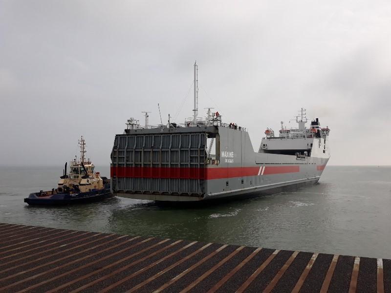 DFDS starts London Medway-Calais unaccompanied service
