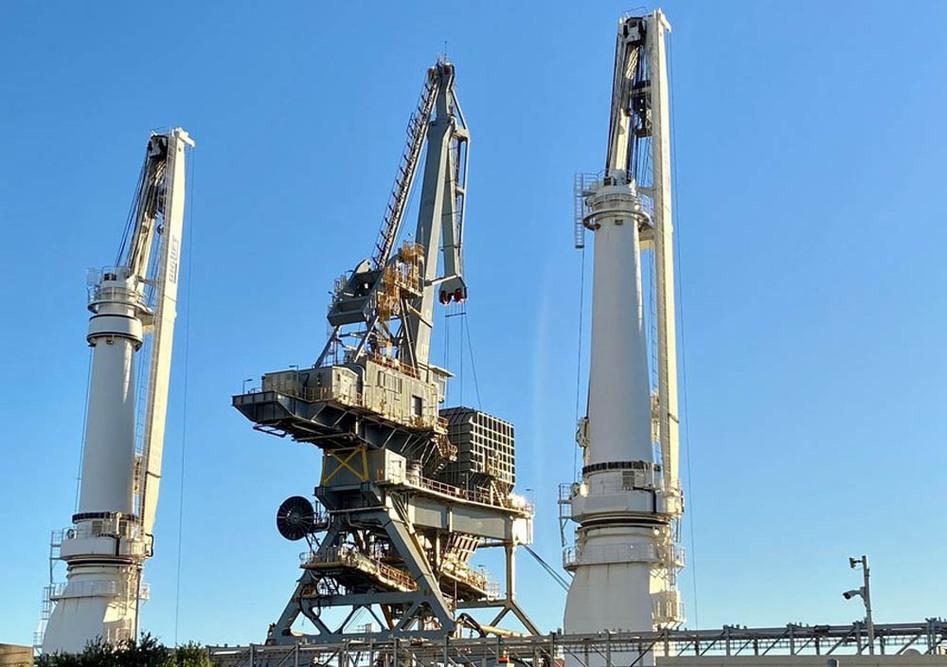 TAKRAF ship-unloader for Port of Newcastle expansion