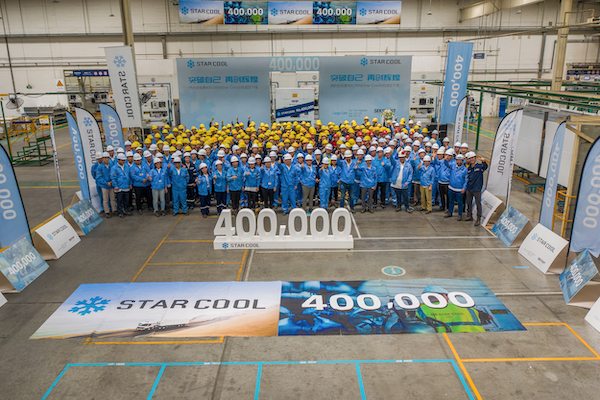 MCI produces Star Cool unit number 400,000