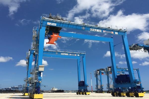 Mitsui E&S Machinery gets grant for zero-emissions RTG