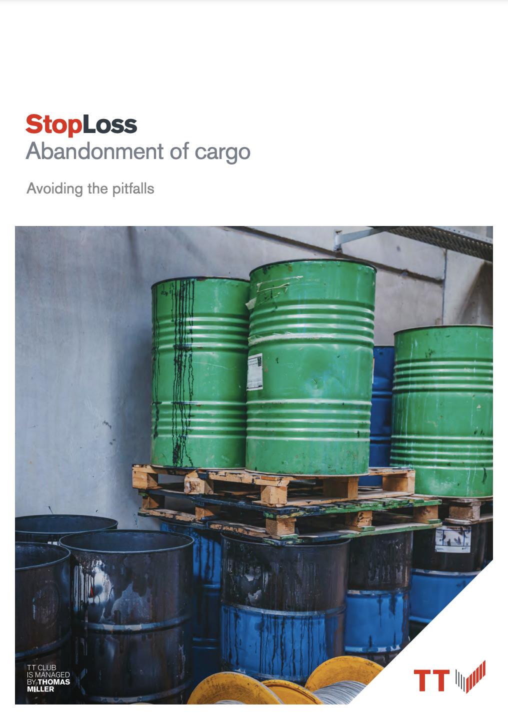 StopLoss: abandonment of cargo
