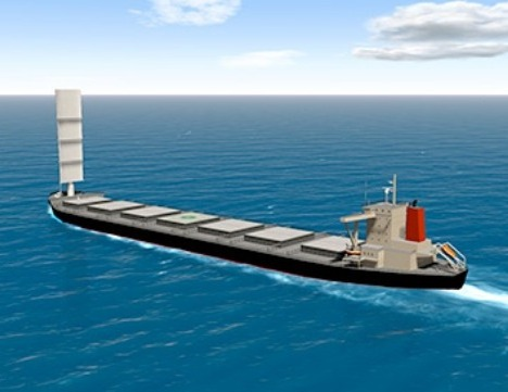 MOL bulker for Tata Steel to feature Wind Challenger sail
