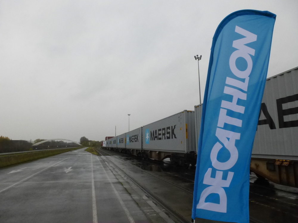 Maersk Line starts Vietnam/Belgium rail service