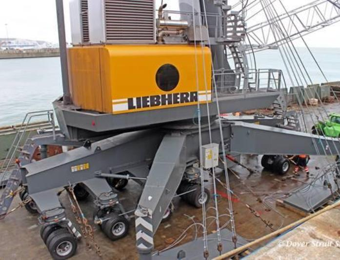 Dover acquires two new Liebherr mobile harbour cranes