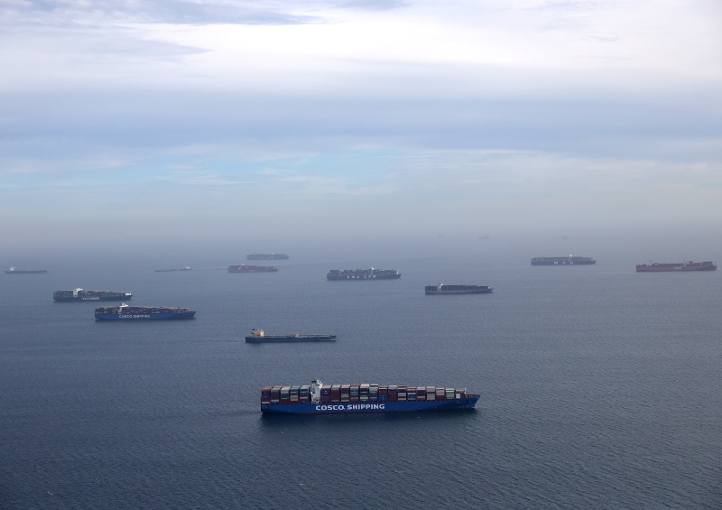 Jump in container moves per port visit causes further congestion