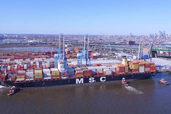 Philadelphia prioritises trucks over ships