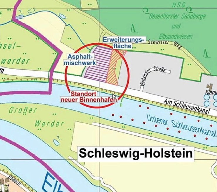 New hydrogen port for Germany