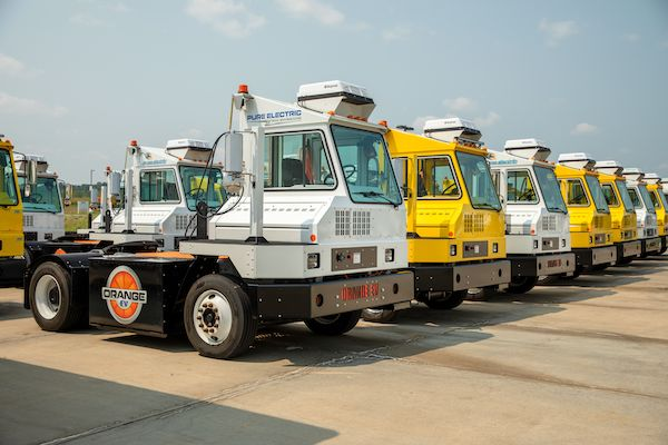 Orange EV Electric tractor fleet logs 3M miles of travel and 1M hours of operating time.