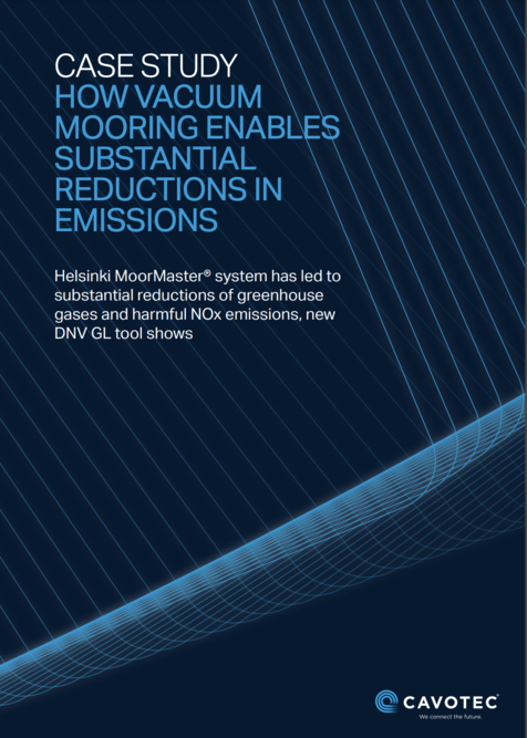 Case Study: How vacuum mooring enables substantial reductions in emissions