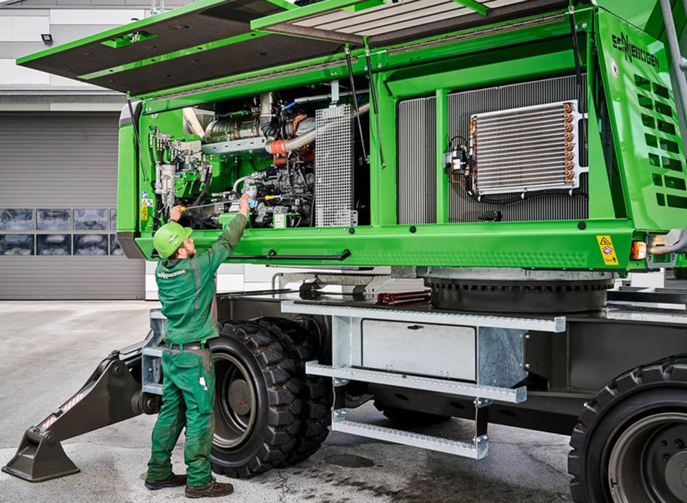 Sennebogen launches 835 G materials handler