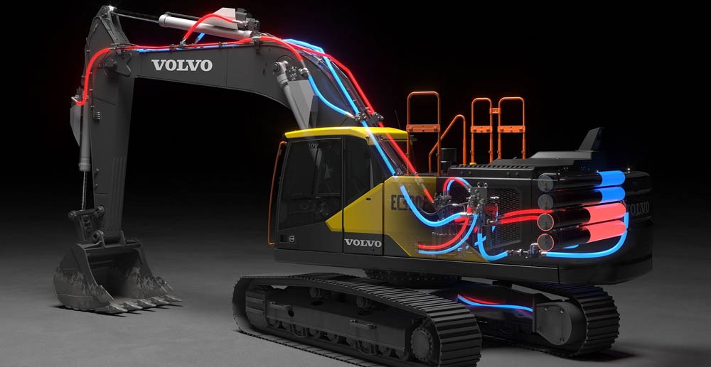 Electro-hydraulic system wins Volvo tech award