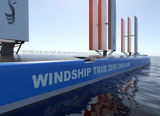 Windship's triple-wing design gets AIP from DNV